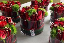 Floristry centerpieces - Pöytäkoriste