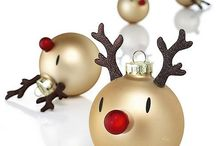 my Christmas decorating and painting ideas 2014 / by Jennyshere BC