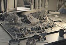 Diorama / Коллекция изображений для диорам.