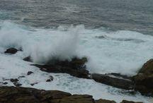 La bravura del mar coruña / fotografias sobre la bravura y hermosura del mar