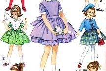 Детская винтажная одежда