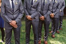 Groom and best men outfits