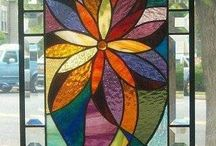 stained glass windows / by Stephanie Mahoney