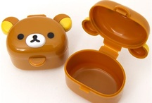 Bento Lunch Boxes, Bags & Thermos / Bento food culture from Japan: http://www.modes4u.com/en/cute/c159_Bento-Boxes.html