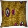 African wax print cushions