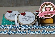 Stampin' Up!! Envelope Punch Board