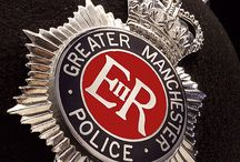 greater Manchester police badges and police stations