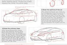 Car design / Sketching