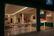 nội thất cafe / thiết kế nội thất cafe nhà hàng