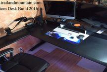 Desk Build DIY