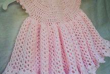 Children's Crocheted Dresses / by Susan Jones