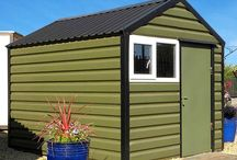 Metals Sheds / Maintenance free and secure!