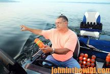 John in the Wild - WHY TONY ADAMS PUTS HIS JUGS IN A STRAIGHT LINE TO CATCH CATFISH