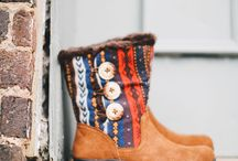 Alegria Nanook / You won't feel the Arctic cold in these mukluk inspired boots! The Alegria Shoes Nanook Boots have you covered up and warm with its suede leather upper and shearling lining. The mid-calf boot shaft is decorated with three unique metallic buttons with elastic loops allowing for greater shaft circumference as needed. Nanook has all the comfort and style of the Alegria brand you've come to love. / by Alegria Shoe Shop