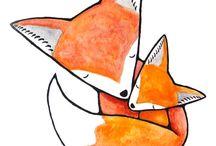 róka - fox