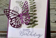 "Cards - ""Butterfly Basics"""