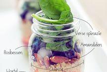 Delicious healthy food / Lekker gezond eten!
