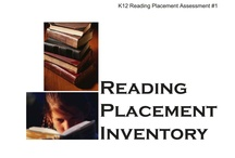 Placement tests and assessments / Homeschooling