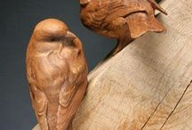 Wood Carving - Friends and colleagues / Look at all these creative people and projects!