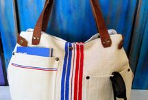 """Grainsack bag"" ""antique european grainsack bag"""