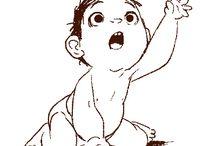 bebes ilustraciones