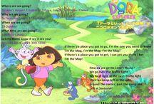 Dora the Explorer party - lulu 3rd