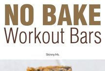 Healthy bars and snacks