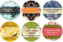 CANNING PRINTABLES / by Kimberlina Bennett