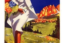 Michele Ortino / Pittore italiano nato nel 1914 e famoso per i suoi acquerelli di grandi dimensioni e ritratti.