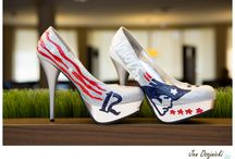 Wedding Theme -Patriots Football / Boston Strong - Boston Sports - Boston Weddings Show your Boston Pride with a themed wedding.