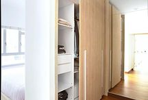 wardrobe as divider