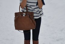 Fall & Winter style / by Sara Burrage
