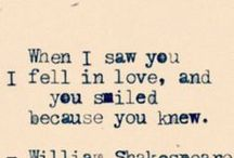 About love...