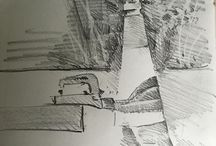 my work Bollard attached to trailer #pencil #sketch @apco360