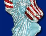 The American Way - Old World Christmas Ornaments