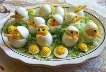 tojás étel