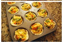 muffin pan recipes / by Kimberly Abdon
