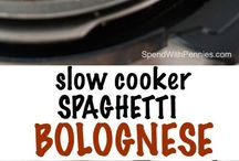 Slow Cooker Recipees