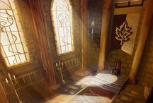 Throne Scene