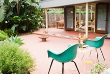 Yard / Inspiration for a kitschy retro-style yard and patio / by Jill Edge