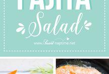 Miam: les salades
