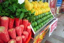 Flowers, fruits and vegetables of India