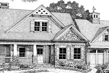 Bungalow House Plans / by Catered Crop