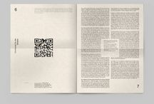 Editorial Layout / A collection of interesting graphic design editorial layouts from around the globe