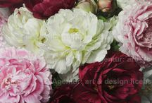Baroque Blooms / Dramatic and voluptous flower gorgeousness from our artist portfolios