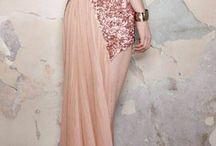 Rose Quartz Wedding Inspiration / Weddings with rose gold highlights