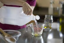 Homemade Cleaning Supplies / by Tammy Ezell