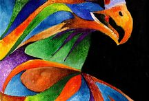 animaux colores