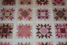 Pink & Brown Quilts