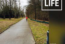 #30daysofwalking / #walking #fitness #lifeproject Solvitur Ambulando. It will be solved by walking.